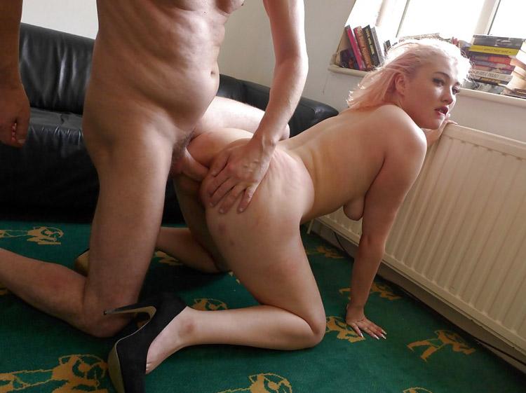 Amatrice blonde gros cul défoncé 8